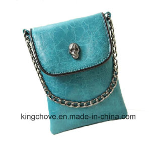 Best Selling and Fashion PU with Skull Shapes Ladies Bag (KCH129) pictures & photos