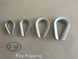 Great Quality Us Type Drop Forged Wire Rope Thimble pictures & photos