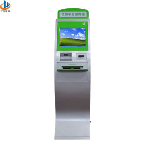 Self-Help Service Terminal Kiosk for Hospital Report (HD05-09)
