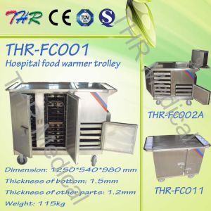 Hospital Portable Electric Heating Dinnering Food Trolley (THR-FC001) pictures & photos