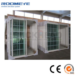 USA Style High Quality White Color PVC Sliding Door pictures & photos