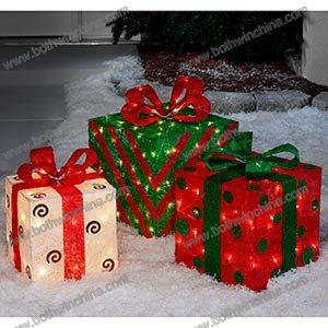 Gift Box Christmas LED Light with Certificates (CE RoHS) pictures & photos