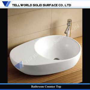 Modern Design Acrylic Solid Surface Bathroom Basin, Washing Basin pictures & photos