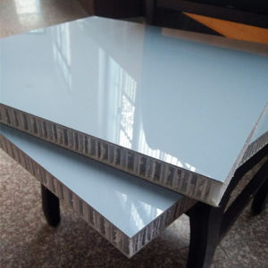 Fire Resistant Fiberglass PP Honeycomb Panel pictures & photos