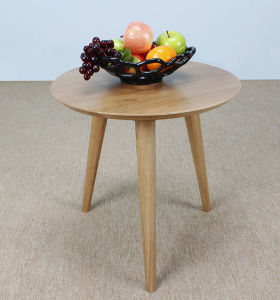Solid Oak Wood Coffee Table Garden Table (M-X1061) pictures & photos