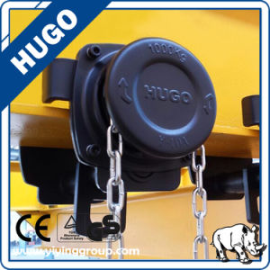 Hugo Gcl 2 Ton Hand Pull Trolley Smooth Hoist Trolley I Beam Trolley pictures & photos