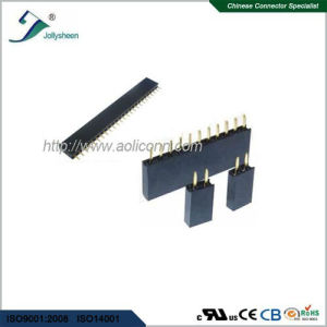 1.0mm Pitch Female Header  Single Row Straight Type H2.0mm pictures & photos