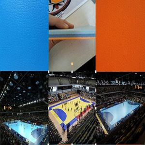 China Facroty Sale PVC Sports Flooring for Handball / Volleyball Court pictures & photos