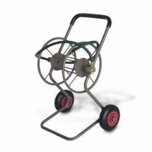 Pb-Free and UV-Resistant Powder Coating Garden Hose Reel Cart (TC4706B) pictures & photos