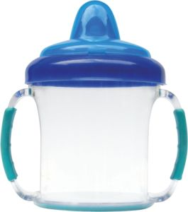 Wholesale Baby Sipper Water Bottles Infant Transition Feeding Cups with Straw