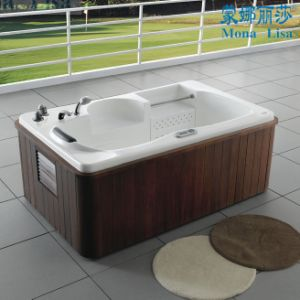 1 2 Person Indoor Jaccuzi Massage Surf Bathtub (M-2001) pictures & photos