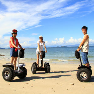 Max Load 130kg Li-ion Battery Powerful Brush Motor 2000W 2 Wheel Smart Self Balancing Electric Mopeds and Scooters for Sale pictures & photos