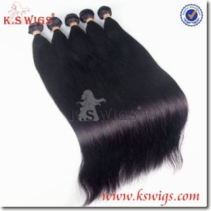 K. S Wig Premium Grade 100% Peruvian Remy Hair Human Hair Weft pictures & photos