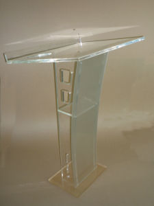 High Level Acrylic Podium Lectern Pulpit Platform