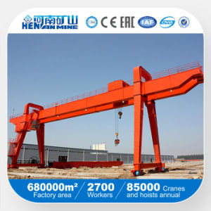 Single Girder Goliath Gantry Crane with CE GOST ISO (A) pictures & photos