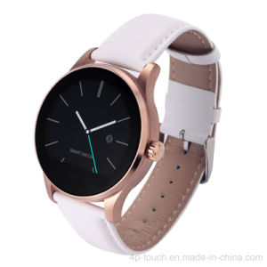 High Quality Round Touch Screen Smart Watch Phone with Heart Rate Sensor pictures & photos