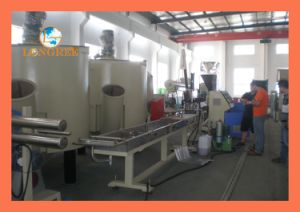PE/PP Cold Cutting Granulating Line pictures & photos