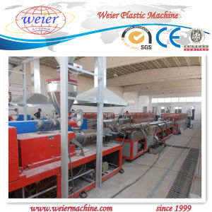 Plastic PVC Window and Door Profile Machine Production Line/Extruder/Extrasion pictures & photos