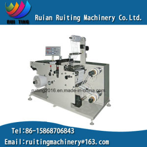 Rtq-320 Adhesive Blank Label Paper Rotary Die Cutter with Slitting pictures & photos