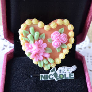 Fondant Silicone Heart Flower Push Mold for Wedding Decorations F0893