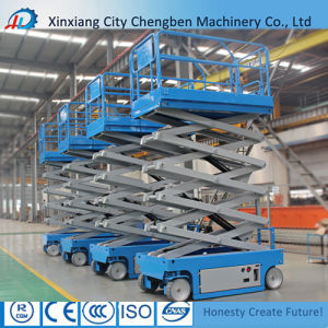Hydraulic Scissor Lift Cherry Picker with Aerial Platform pictures & photos