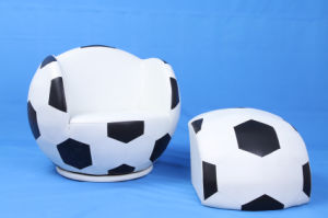 Cool Football Swivel Upholstered Baby Chair and Ottoman (SF-107) pictures & photos