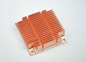 Copper Skived Fin Heatsink pictures & photos