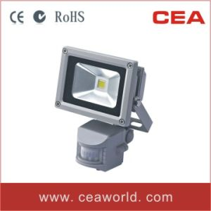 10W LED Floodlight with PIR Motion Sensor (LFL2-10) pictures & photos