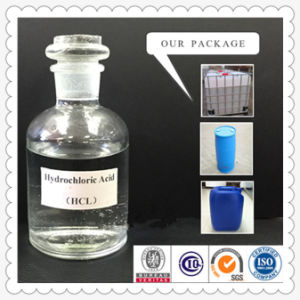 Factory Price of Industrial Hydrochloric Acid 32% pictures & photos