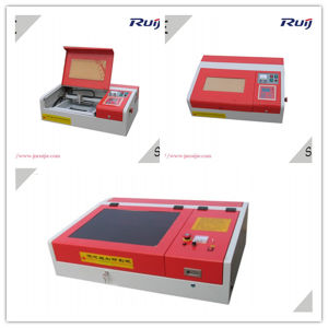 Mini CO2 Laser Engraving and Cutting Machine Rj40 pictures & photos