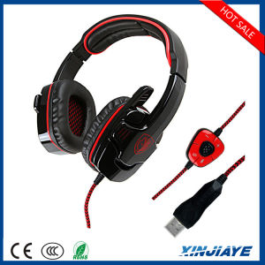 Best Sound Stereo Studio Wired USB Gaming Headphone/Headset with Mic pictures & photos