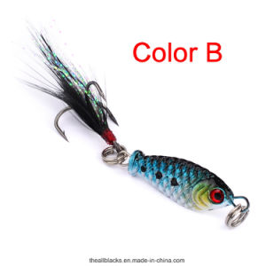 Wholesale Lead Fish/Hard Lure/Artificial Bait/Lead Fishing Lure 2.5cm/6.4G pictures & photos