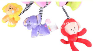 Baby Bed Plush Animal Spiral Toy pictures & photos