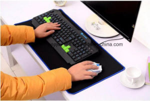 Custom Large Rubber Computer Gaming Mouse Mat Keyboard Pad pictures & photos