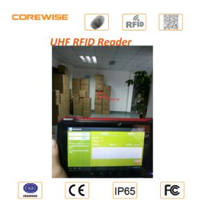 IP65 Android Touch Screen Fingerprint Module PDA with UHF/Hf RFID, Barcode Scanner pictures & photos