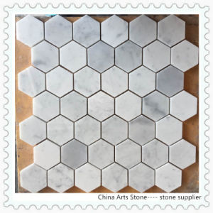 Bianco Carrara White Marble Mosaic Tile pictures & photos