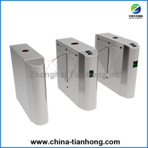 Biometric RFID Card Control Metro Fast Speed Flap Barrier Turnstile pictures & photos