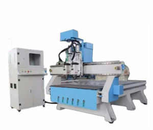 Automatic Wood Carving Machine Wood Stair High Precision CNC Router Machine Price pictures & photos