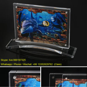 2017 New Desing Acrylic Picture Photo Holder Frames with Base pictures & photos