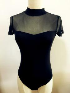 Women Clothing Sexy Mesh Bodysuit Fashion Garment pictures & photos