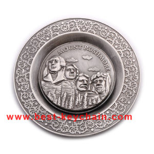 Custom OEM Souvenir Metal Mount Rushmore Gift Plate (BK53351) pictures & photos