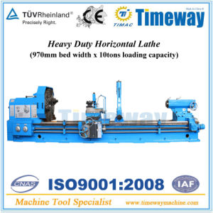 Heavy Duty Horizontal Lathe (970mm Bed width & 10Ton Loading) pictures & photos
