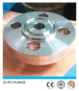 ANSI Pipe Fittings Weld Neck Rtj Stainless Steel Flange pictures & photos