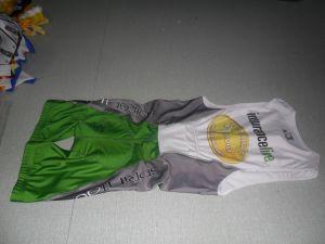 82% Polyester, 18% Spandex Digital Sublimation Print Triathlon Suirts