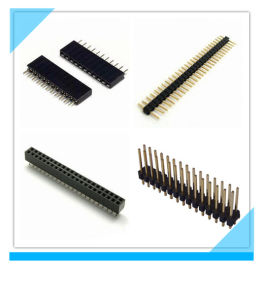 China Manufacturer Custom Electric 2.54mm Pin Female Header pictures & photos