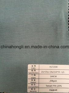 Tencel Linen Blend Fabric pictures & photos
