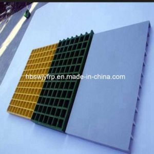 FRP GRP Fiberglass Grating with Smooth Cover pictures & photos