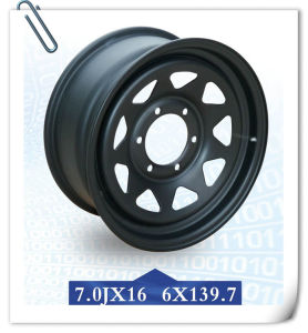 16′ Steel Wheel Rim for Military Vehicle