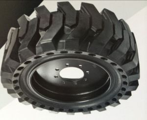 Excavator Skid Steer Solid Tyre (33*6*11 36*7*11 40*9*13 38*7*13) Tyre with L-2 pictures & photos