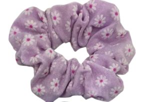Flower Prints Cotton Fabric Pony Tail Holders pictures & photos